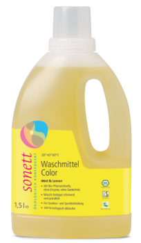 Waschmittel Color Mint & Lemon Sonett