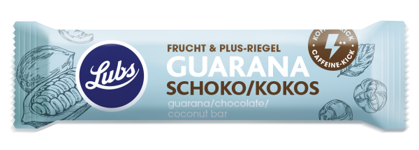Frucht & Plus-Riegel Guarana Schoko Kokos